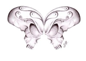 butterfly_skulls_by_Gsaw